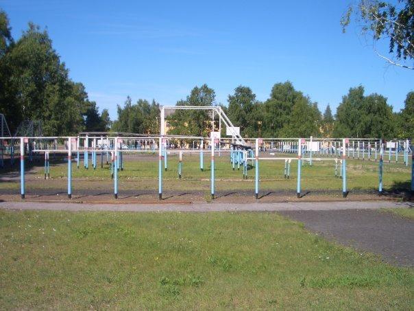 ВЧ 43533. Спортплощадка учебного центра