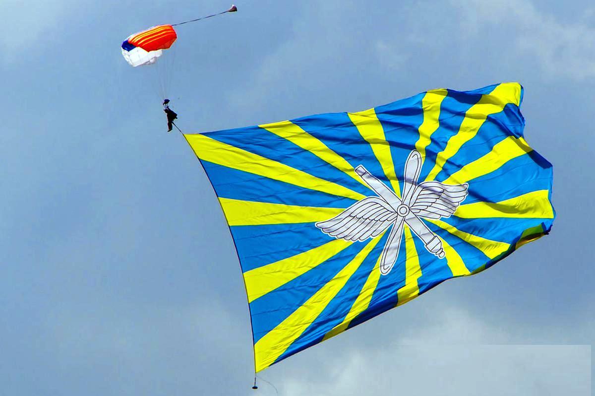 его флаг воздушно-космических сил картинка ней