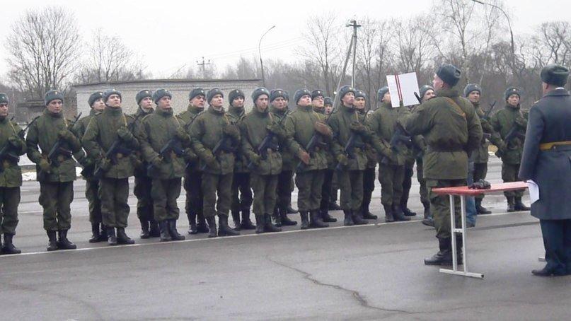 ВЧ 72152. Присяга на верность Российской Федерации в в/ч
