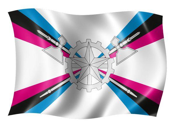 ВЧ 72155. Флаг МТО