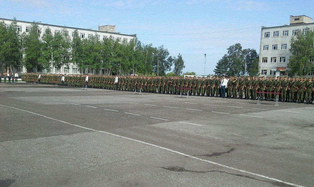 ВЧ30632. В учебном центре мотострелковых войск в пос. Князе-Волконское