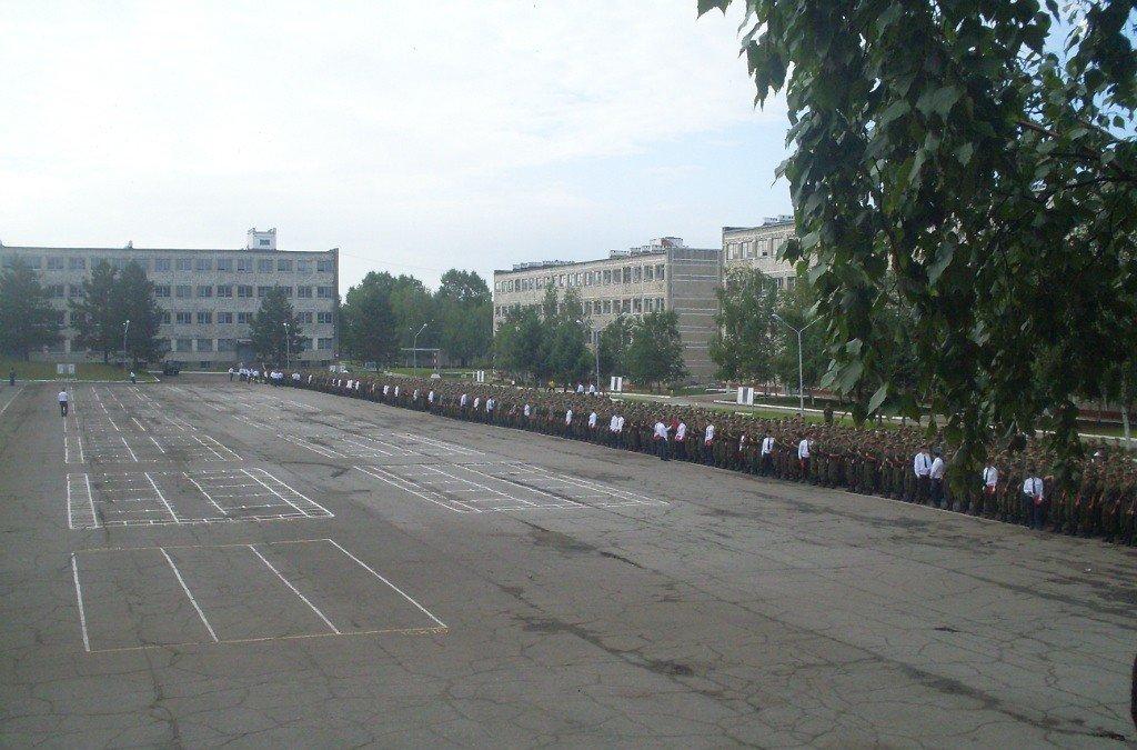 ВЧ30632. Общий вид УЦ танковых войск