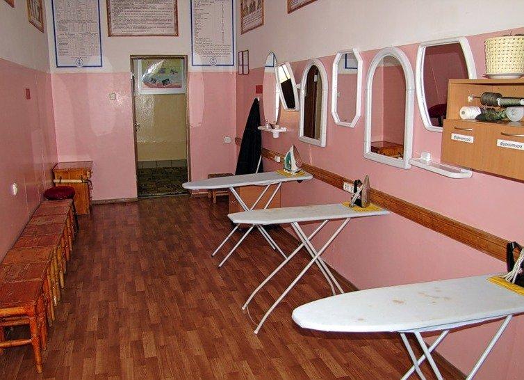 ВЧ38643. Бытовая комната в одной из казарм