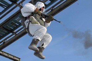ВЧ38643. Обучение десантированию парашютным способом