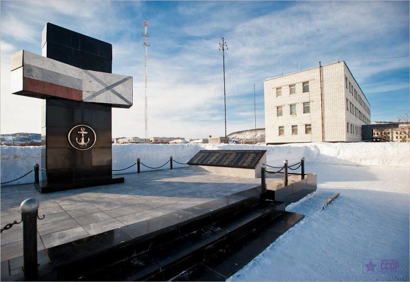 ВЧ38643. Памятник военнослужащим 61-й бригады, погибшим в Чечне