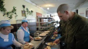 ВЧ71615. Организация приема пищи в столовой