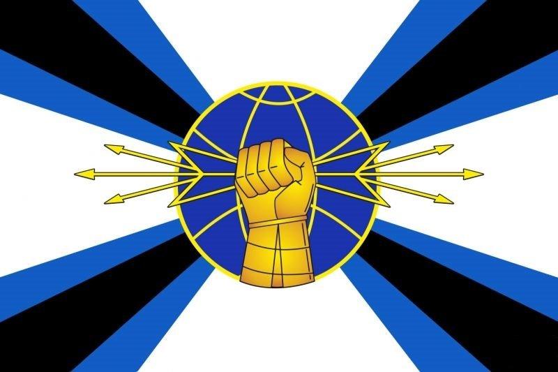 ВЧ71615. Флаг радиоэлектронной борьбы