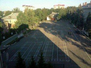 ВЧ 25801-9. Плац центра узлов связи