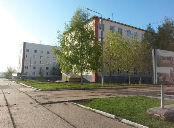 ВЧ 11386. Здание казармы военной части в пос. Рощинский