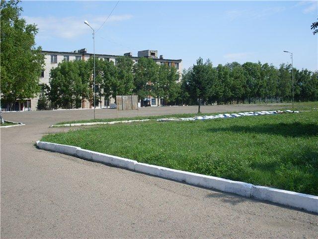 ВЧ 16871. Территория воинской части