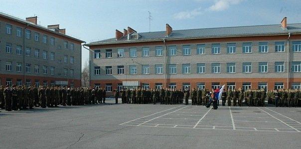 ВЧ 22316. Построение во время принятия военной присяги