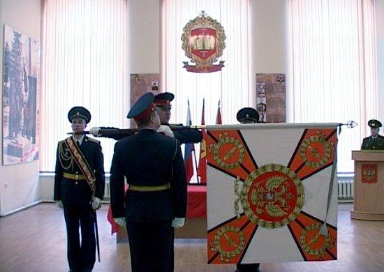ВЧ 29202. Вручение Боевого Знамени бригаде управления 58-й армии ЮВО
