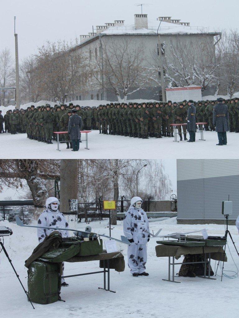 ВЧ 41659. На мероприятии по приведению бойцов части к военной присяге на верность РФ