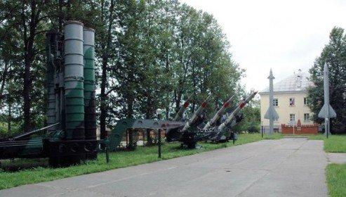 ВЧ 52116. Музей под открытым небом рядом со штабом