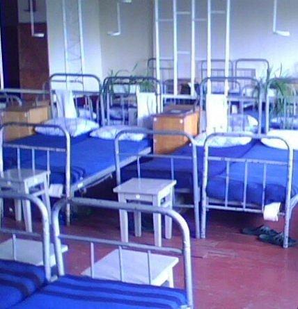 ВЧ 53790. Спальное расположение солдат части