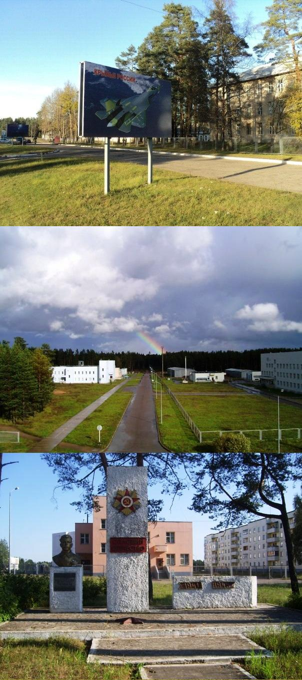 ВЧ 55584. На территории военного городка Владимирский лагерь