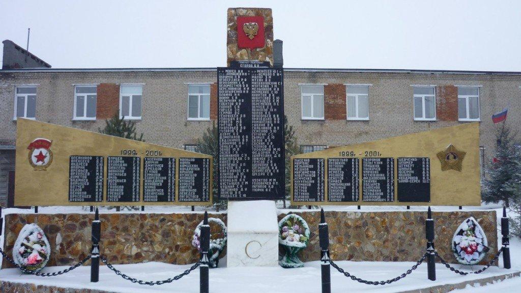 ВЧ 72154. Памятник-Мемориал павшим солдатам