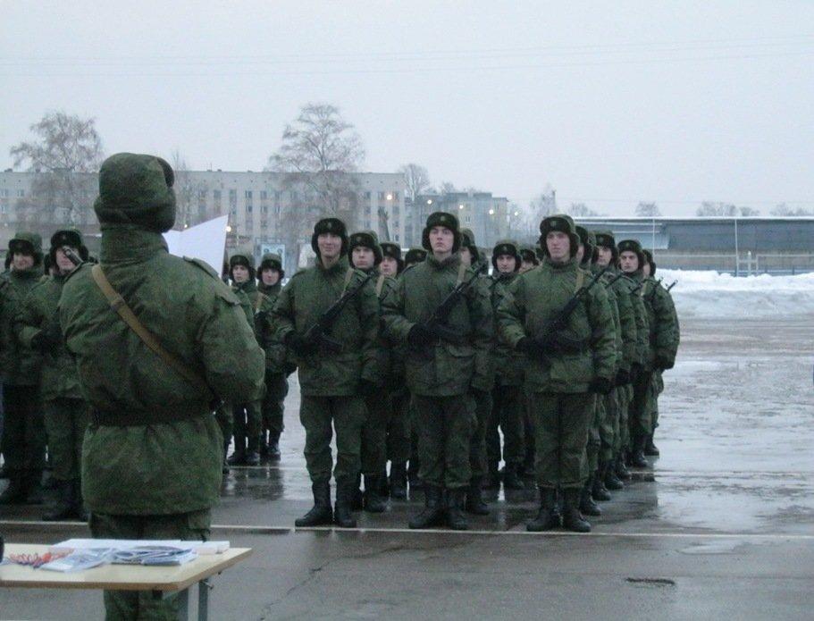 ВЧ 74268. Ритуал приведения солдата части к военной присяге