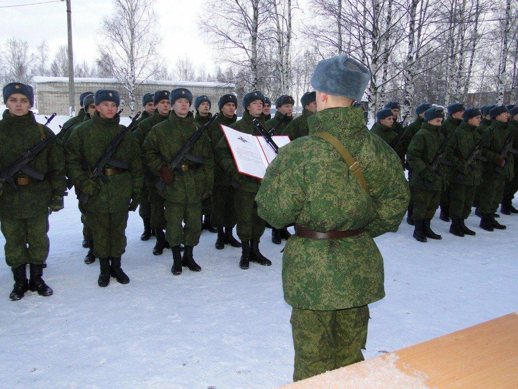 ВЧ 75752. Принятие военной присяги бойцами бригады