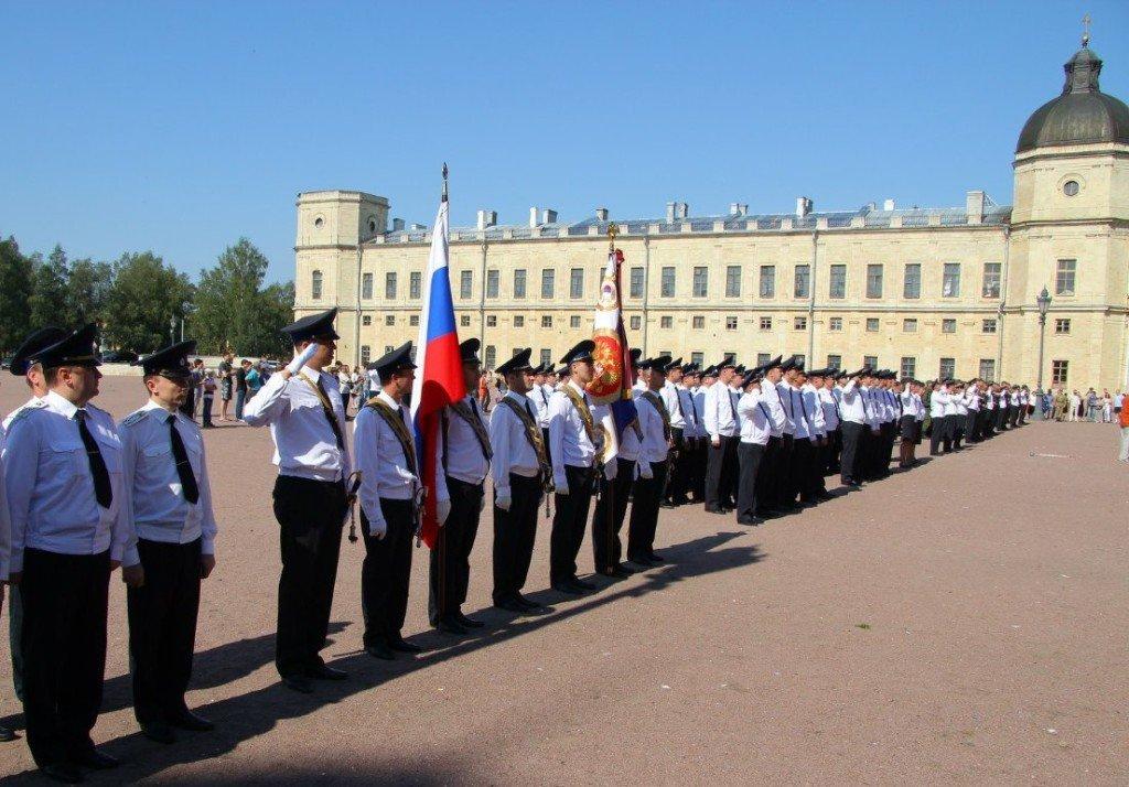 ВЧ28667. Мероприятия по приведению к присяге бойцов подразделения у Гатчинского дворца