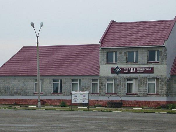 ВЧ51128. Вид на здание столовой