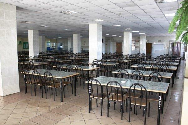 ВЧ51128. Зал для приема пищи (столовая)