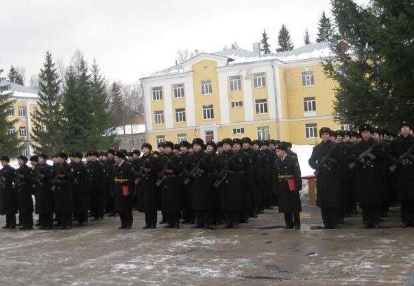 ВЧ56529-2. Построение на плацу (3-й батальон, Ломоносово)