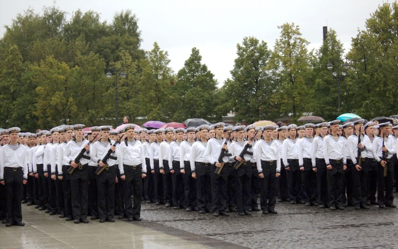 ВЧ56529-2. Церемония присяги в Кронштадте