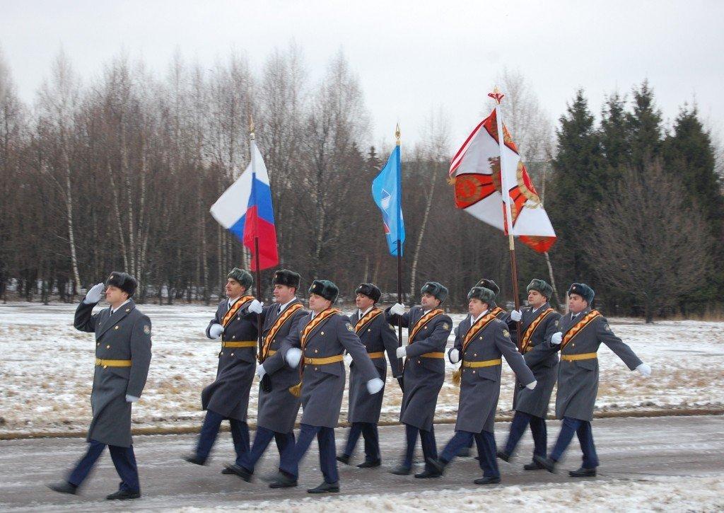 ВЧ61991. Вынос знамени 549-м ЗРП