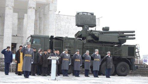 ВЧ61991. Торжественное заступление полка на боевое дежурство