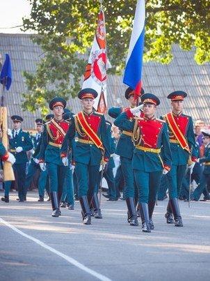 ВЧ 20115. Вынос боевого знамени части