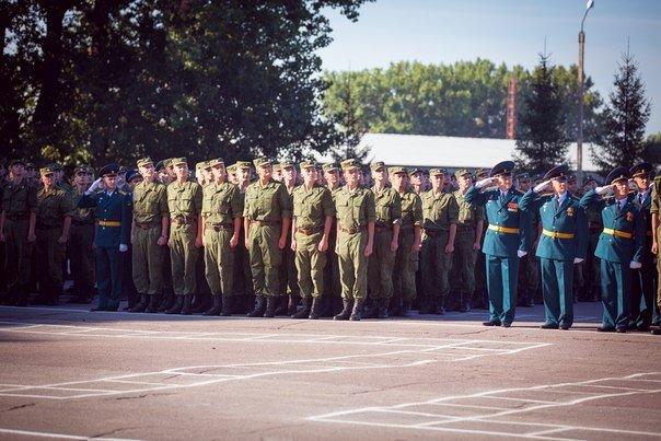 ВЧ 20115. На церемонии принятия воинской присяги
