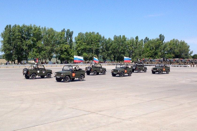 ВЧ 20115. Площадка для состязания военных автомобилистов в рамках Армейских игр в Острогожске
