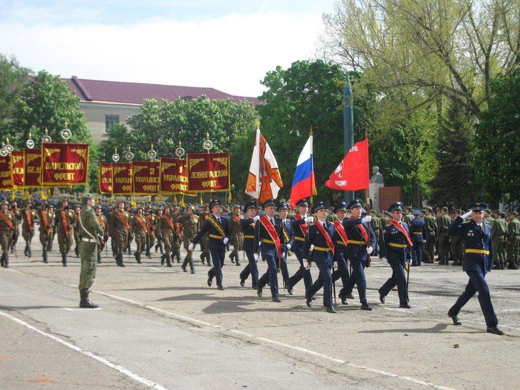ВЧ 20926. Торжественное мероприятие, посвящённое 70-летию Великой Победы