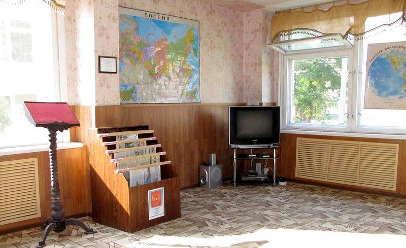 ВЧ 27777. Комната досуга в Калиновской