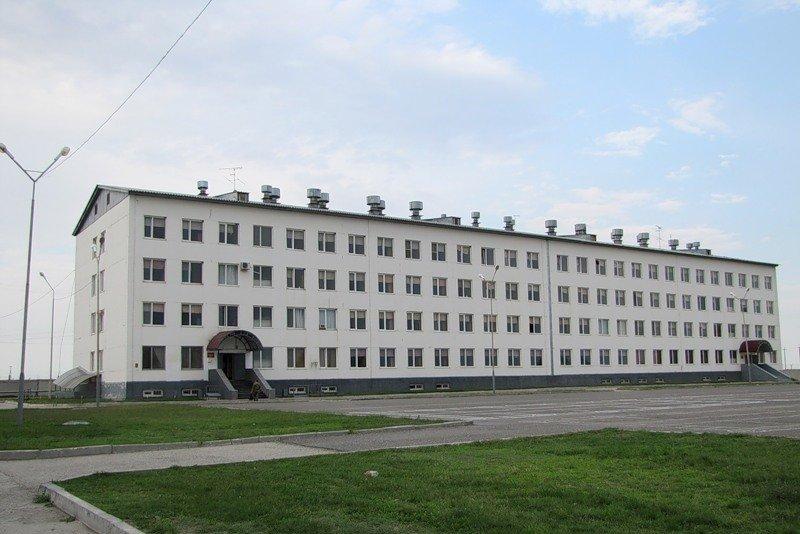 ВЧ 27777. Казарма в пос. Калиновская
