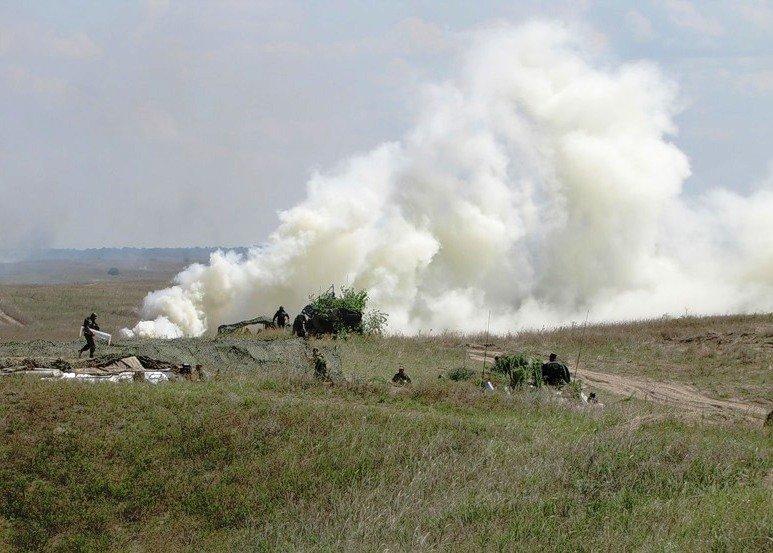 ВЧ 27777. На занятиях по боевой подготовке