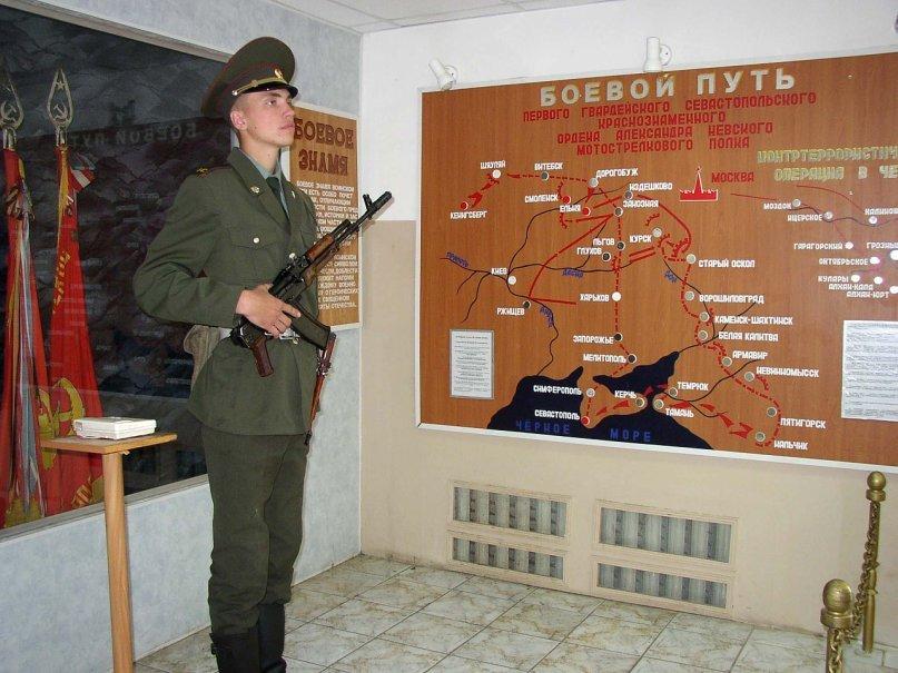 ВЧ 31135. Первый Севастопольский мотострелковый полк. Боевой путь