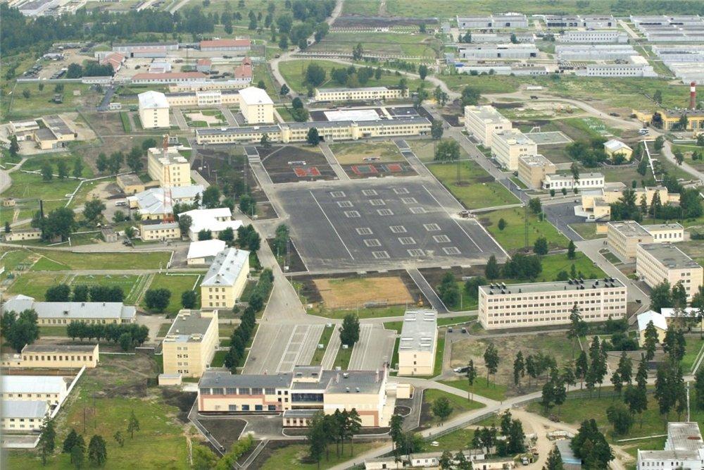 ВЧ 31643. Вид на Чебаркульский гарнизон