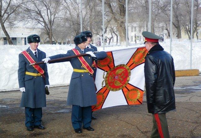 ВЧ 32755. Георгиевское боевое знамя 385-й артбригады