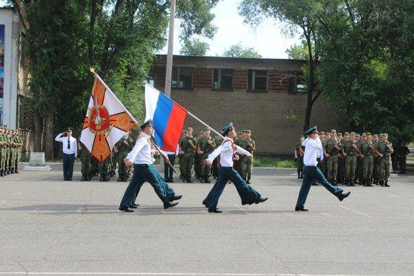 ВЧ 33860. Боевое знамя учебного центра ПВО