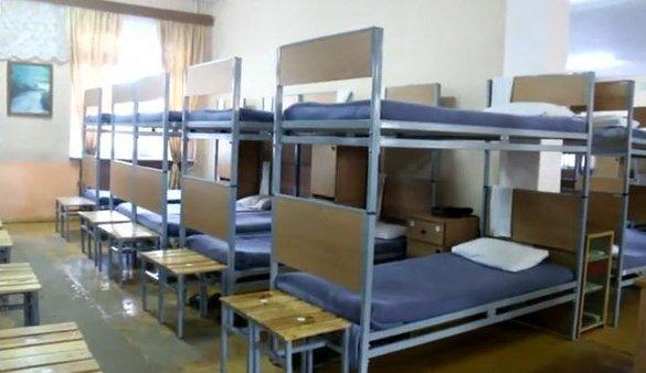 ВЧ 33860. Спальное расположение бойцов 106-го УЦ ПВО