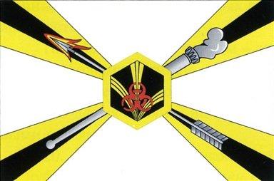 ВЧ 34081. Флаг войск радиационной, химической и биологической защиты