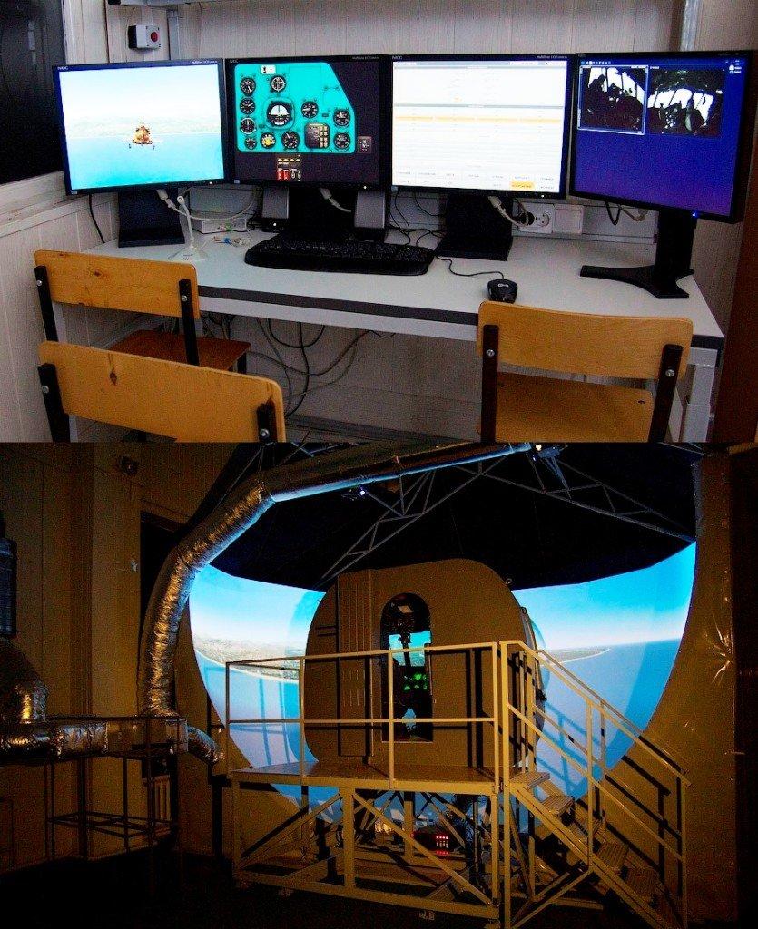 ВЧ 45095. Летный тренажер для обучения