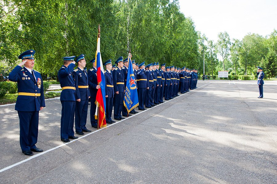 ВЧ 45095. Празднование 35-летия Центра подготовки лётного состава