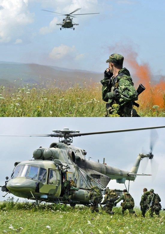 ВЧ 45095. Тренировки военнослужащих части