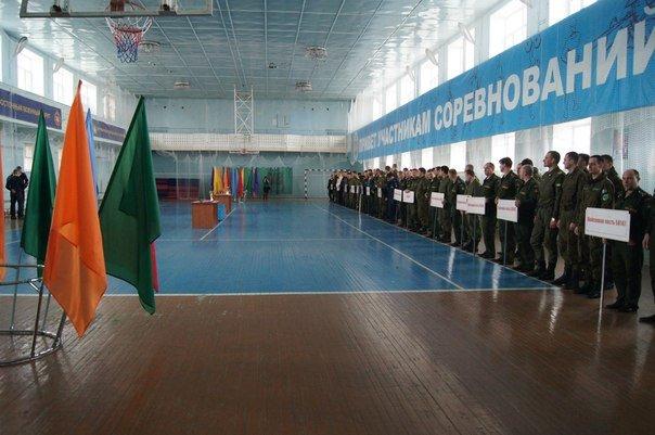 ВЧ 45505. Бойцы бригады на спортивных соревнованиях ВВО