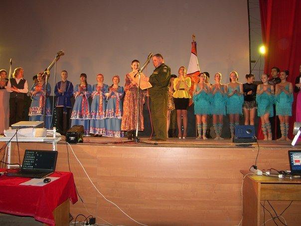 ВЧ 92574. Празднование годовщины войск ПВО в полку