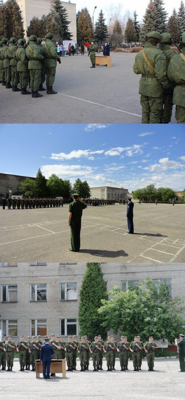 ВЧ 92574. Приведение новобранцев части к военной присяге