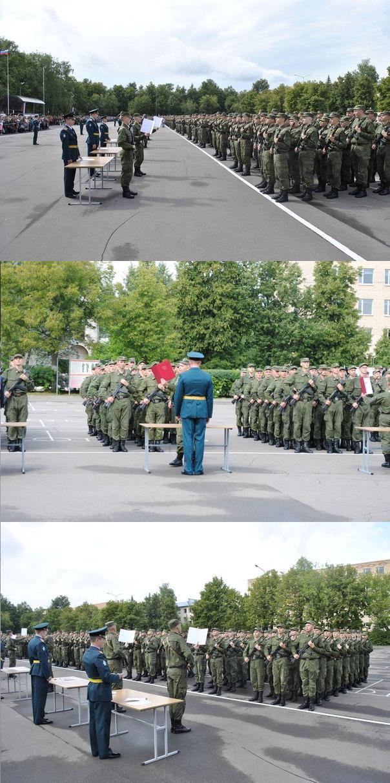ВЧ11300. Приведение к военной присяге бойцов в/ч